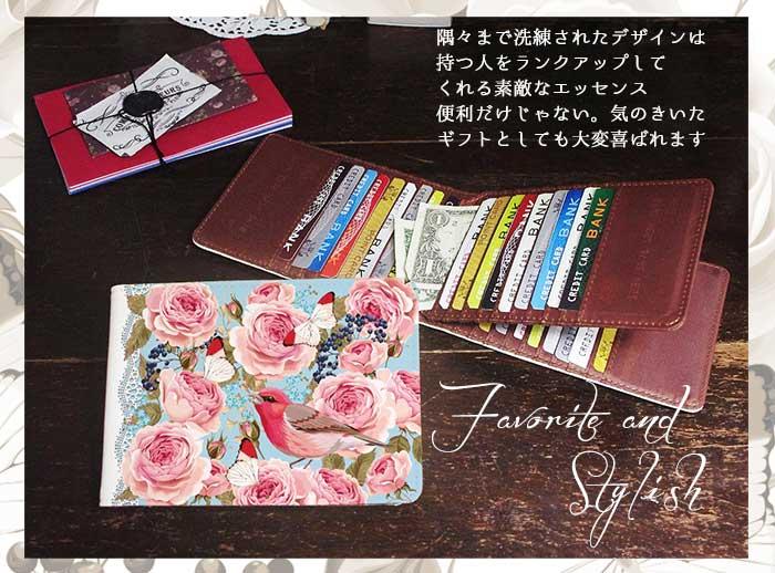 たっぷり40枚入るカードケース!アンティークデザイン新発売♬